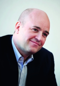 Reinfeldt håller fast vid makten trots utebliven majoritet. Foto Johan Jeppsson.