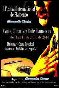 Affisch för Flamenco festival